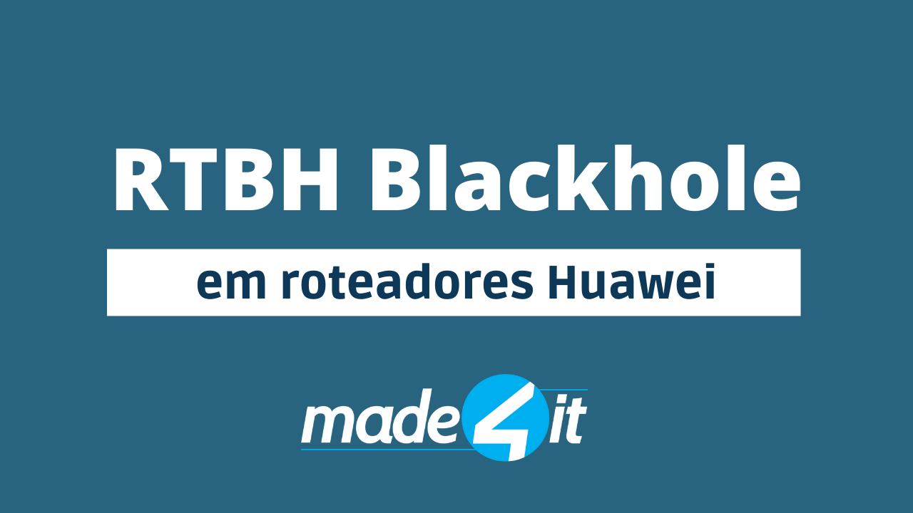 blackhole bgp huawei